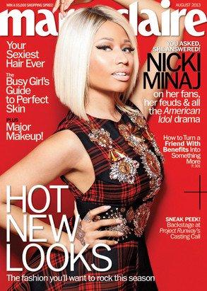 Nicki Minaj compare les hommes aux chiens, parle de bébés et d'Halle Berry dans Marie Claire