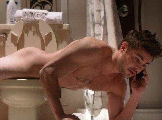 Zac Efron revient sur la scène de planking nu aux toilettes dans That Awkward Moment