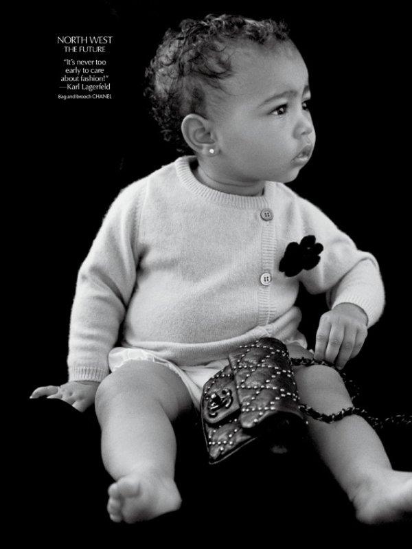 North West pose pour CR Fashion Book : découvrez la photo époustouflante !