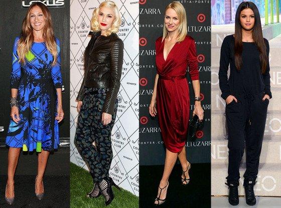 Les stars à la Fashion Week de New York : Selena Gomez, Gwen Stefani, Sarah Jessica Parker et bien d'autres encore !