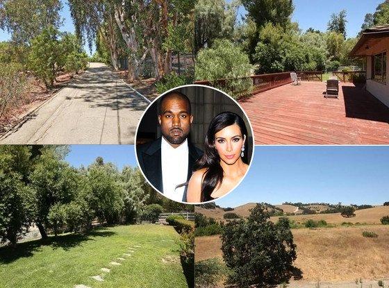 Kim Kardashian et Kanye West achètent la maison de leur voisin pour 2,9 millions de dollars : jetez un ½il !