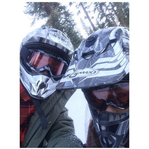 Ariana Grande et Big Sean ont l'air fous amoureux pendant leurs vacances au ski : toutes les photos !