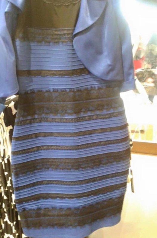 Le débat sur cette robe divise le monde entier : est-elle blanche et dorée, ou noire et bleue ?