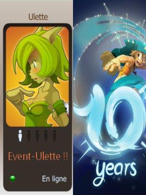10 Ans Ankama faut fêter sa sur Ulette !!!