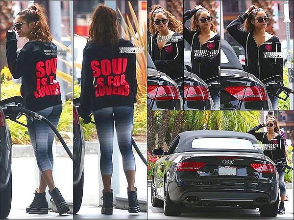11/06/2013-  V. à été repéré faisant le plein essence de son véhicule dans une station service de Los AngelesJ'aime bien son pull, mais le reste c'est du flop, je n'aime pas trop sa tenue. C'est un flop pour cette fois. Top ou Flop?
