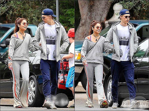 03/06/2013- Miss Hudgens à été repérée seule, quittant la salle de gymnastique à Studio City. Top ou Flop?