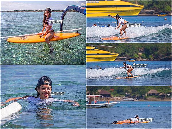 19/06/2013-  Vanessa Hudgens s'est rendue à Oakley Learn To Ride pour prendre des cours de surf.