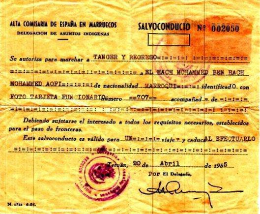 Visa  tanja 1955