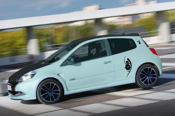 Clio 2 RS a mon style
