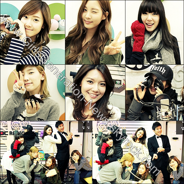 SUNNY RADIO KBS COOL FM + NOUVELLE PHOTO YUIR HIGH CUT + SNSD MBC SHIMSHIM TAPA RADIO