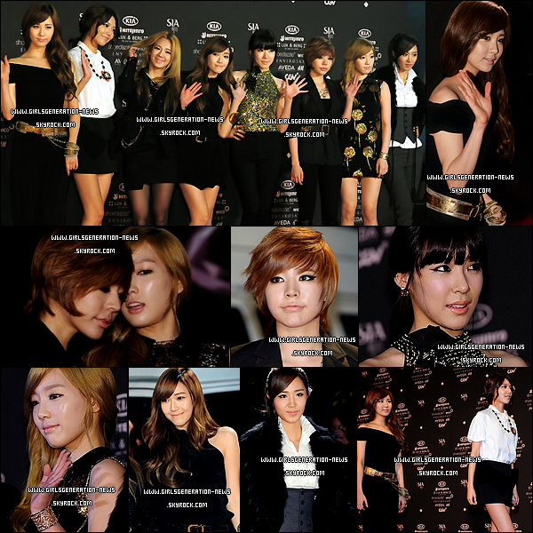 SNSD MNET STYLE ICON AWARDS