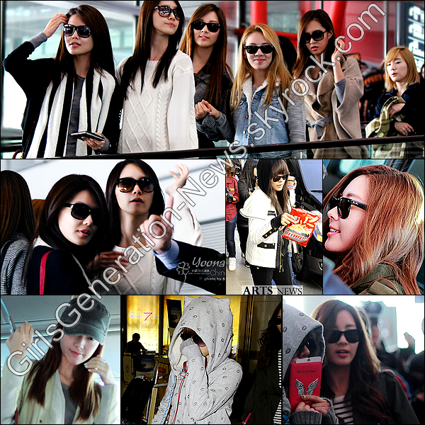 SNSD KOREA CHINA SONG FESTIVAL + SNSD AEROPORT DE GIMPO ET BEIJING + MESSAGE D'ENCOURAGEMENT DES SNSD !