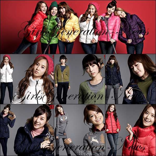 SNSD NOUVELLES PHOTOS SPAO + SNSD KBS DREAM TOUR + PHOTOS MTV NEW YORK