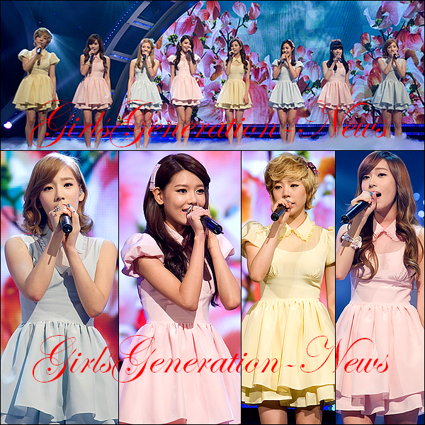 SNSD MNET COUNTDOWN + SNSD NOUVELLE PHOTO J.ESTINA