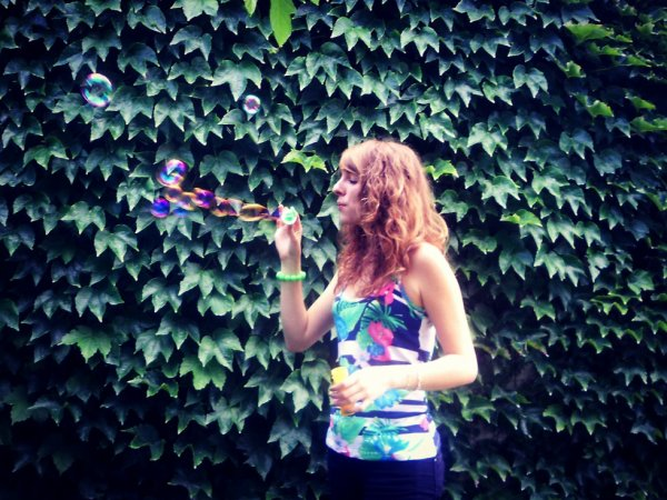 Dans ma bulle! :3