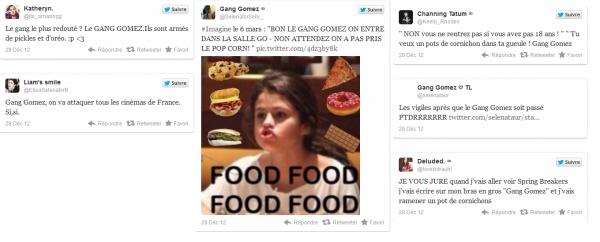 Spring Breakers interdit au moins de 18 ans, le Gang Gomez se révolte sur Twitter
