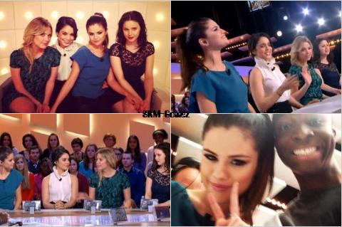 01/02/13 - Selena & le reste du Cast était au Grand Journal sur Canal+. Perso j'ai regarder & c'était OMGGGGGGGGG ! J'avais les larmes au yeux *.*