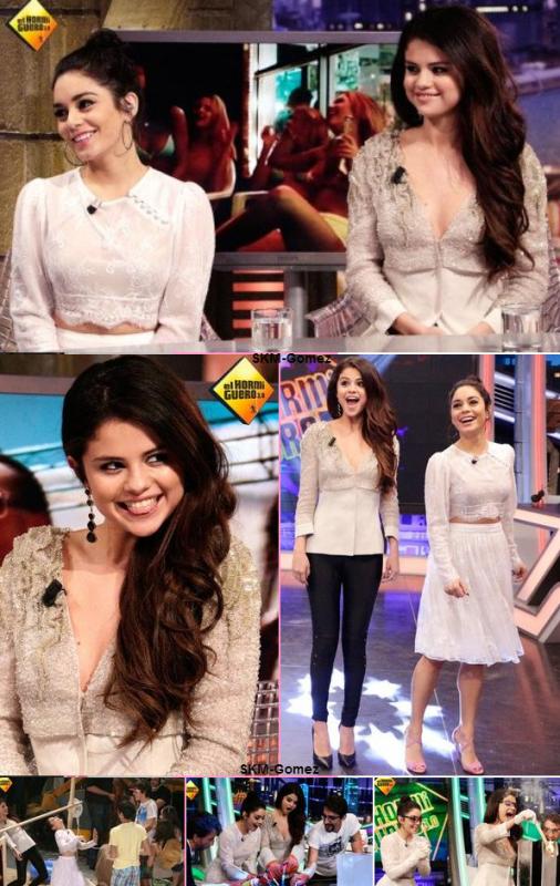??/02/13 - Selena & Vanessa était à El Hormiguero. Elles étaient MAGNIFIQUE *_*