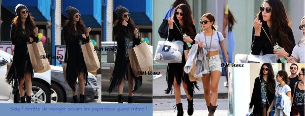 02/03/13 - Selena G. a fait du shopping avec une amie dans Studio City, à L.A. + Facebook !