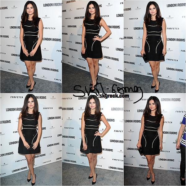 """09/04/13 - Selena à été apparçue la nuit dernière lors de l'événement du British Fashion Council """"Chambres Salon de Londres à Los Angeles"""", l'actrice a pris quelques photos avec l'actrice Julianne Hough, Teresa Palmer, Isabelle Fuhrman et Rose McIver."""