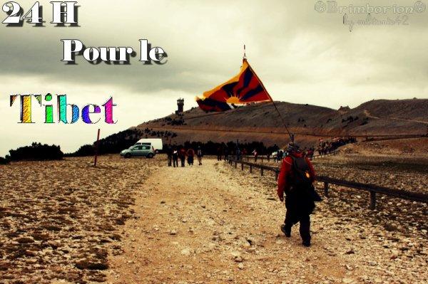 24 H pour le Tibet - Malaucène(84) - Mont Ventoux - Samedi 24 & Dimanche 25 Septembre