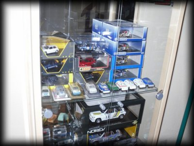 Ma collection en vitrine (: