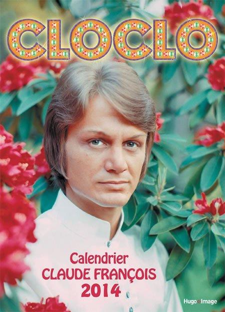 Le calendrier Cloclo 2014