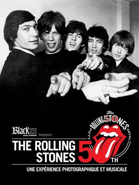 L'exposition Rolling Stones 50th ouvre ses portes à Paris