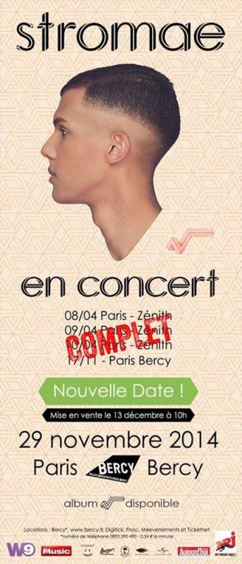 Un deuxième concert à Bercy pour Stromae