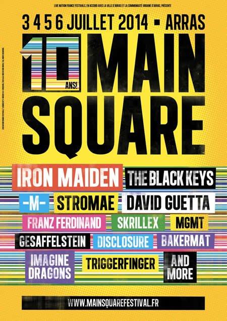 Main Square Festival : ouverture de la billetterie