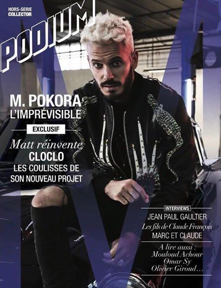 Le magazine Podium est de retour avec un HS spécial M Pokora
