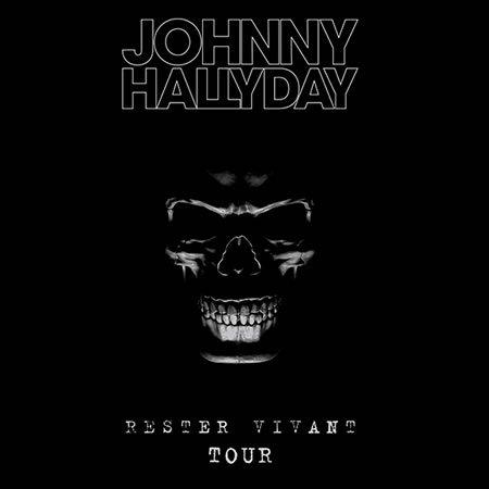 """Johnny Hallyday : """"Rester Vivant Tour Live"""" sortie le 21 octobre et 25 novembre"""