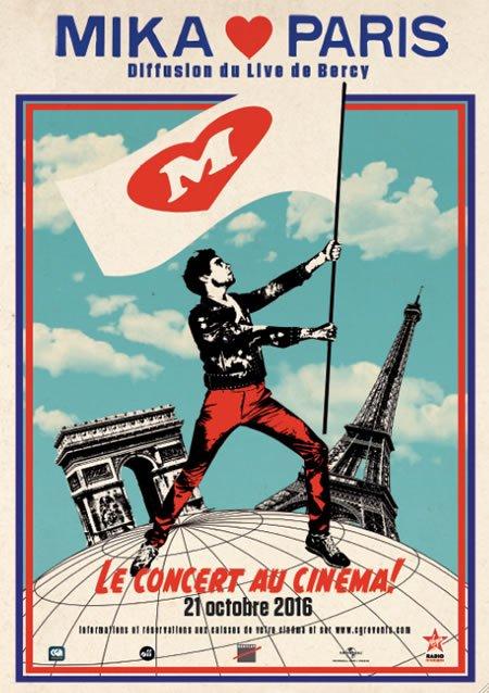 Mika Love Paris au cinéma le 21 octobre