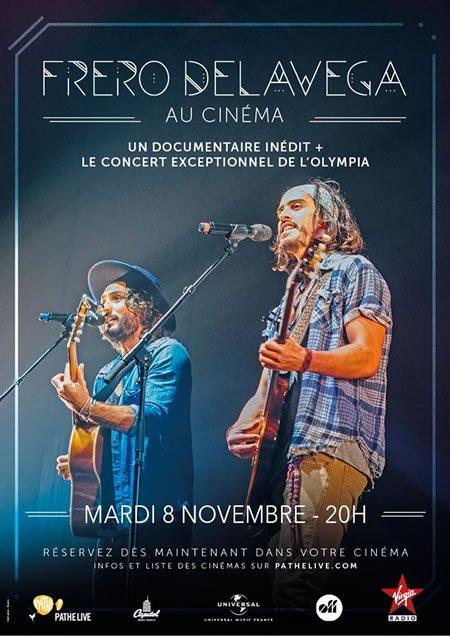 Fréro Delavega au cinéma le 8 novembre 2016
