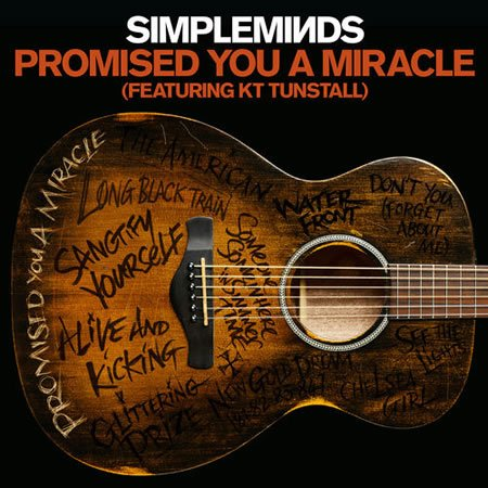 "Version acoustique de ""Promised You A Miracle"" par Simple Minds et KT Tunstall"