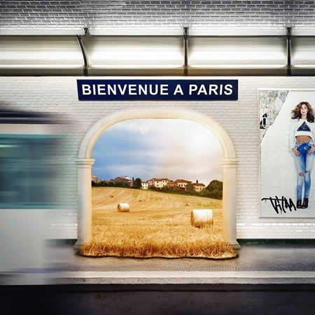 "Clip de ""Bienvenue à Paris"" de Vitaa"