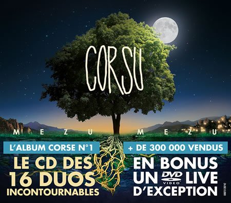 "Sortie de l'édition Deluxe de ""Corsu - Mezu Mezu"""