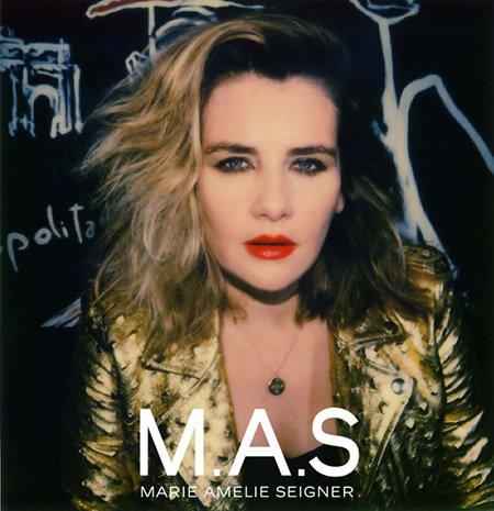 """Sortie le 2 décembre de """"M.A.S"""" le nouvel EP de Marie-Amélie Seigner"""