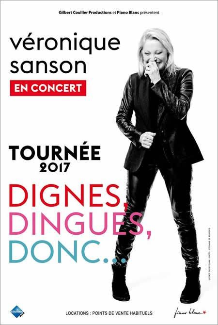 Premières dates de la tournée 2017 de Véronique Sanson