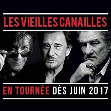 Les Vieilles Canailles en tournée en 2017