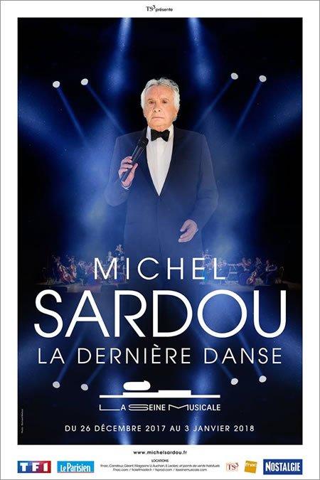 """Michel Sardou de retour sur scène en 2017 pour """"La Dernière Danse"""""""