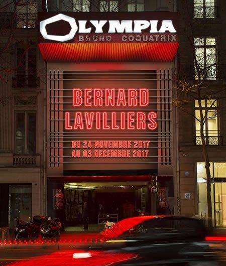 Bernard Lavilliers de retour à l'Olympia en 2017