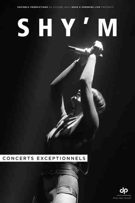 Premières dates de la tournée 2017 de Shy'm