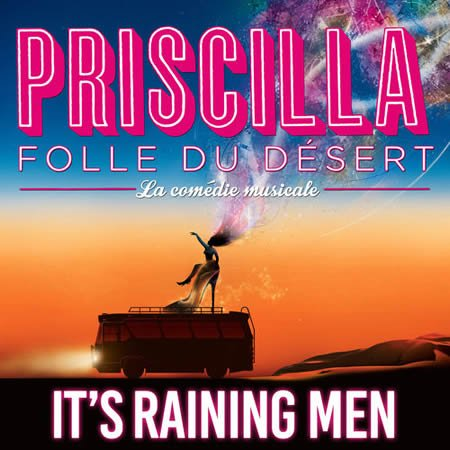 "It's raining men, premier extrait de la BO du spectacle ""Priscilla folle du désert"""