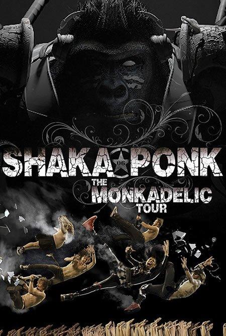 """Premières dates de """"The MonkAdelic Tour"""" de Shaka Ponk"""