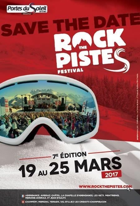 """Festival """"Rock the pistes"""" du 19 au 25 mars 2017"""