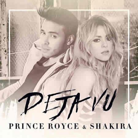 """Prince Royce et Shakira en duo pour le single """"Deja vu"""""""