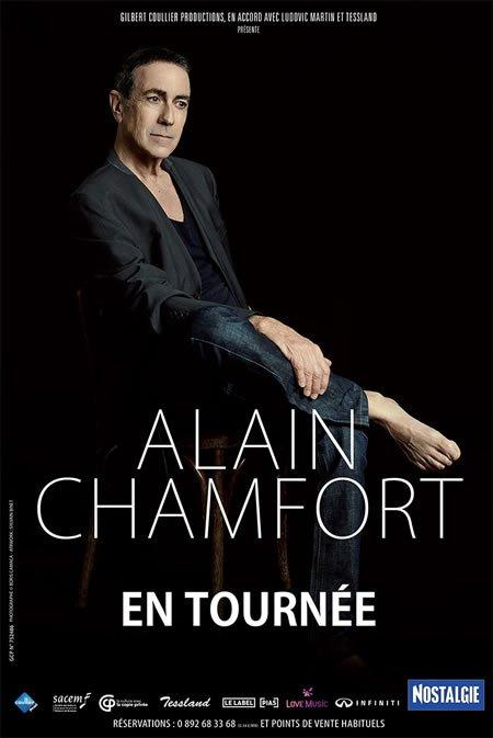 Alain Chamfort à la Salle Pleyel à Paris le 29 avril et en tournée