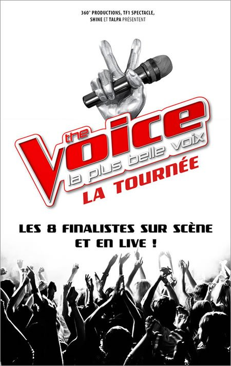 Dates de la tournée des finalistes de The Voice 2017