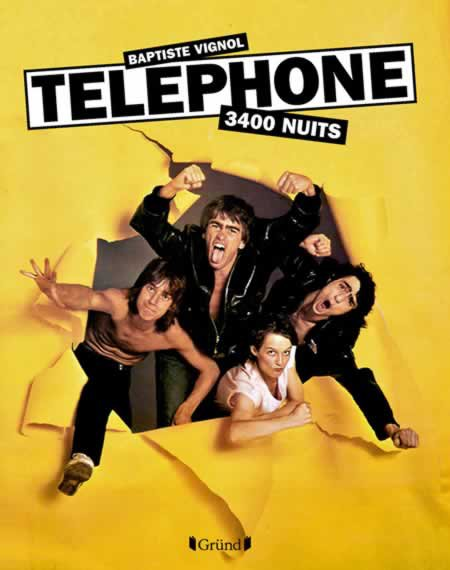 """Chronique du livre """"Téléphone, 3400 Nuits"""" de Baptiste Vignol"""